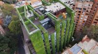 Tòa nhà mát mẻ nhờ phủ kín cây xanh