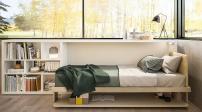 Những mẫu giường ngủ dành cho phòng ngủ nhỏ