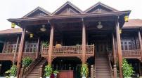 Ngắm ngôi nhà gỗ lim ở Điện Biên