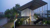 Ngôi nhà ở Nghệ An có thiết kế độc đáo, lạ mắt