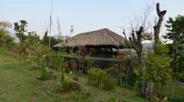 Ngôi nhà lá có kiến trúc đẹp ở Hòa Bình