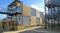 Xây dựng nhà container cho người vô gia cư ở London