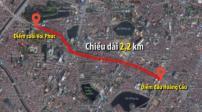 Hà Nội: Đầu tư xây dựng tuyến đường Hoàng Cầu – Voi Phục