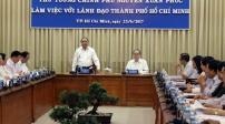 Tp.HCM: Xin tạm ứng hơn 3.300 tỷ cho dự án metro