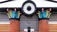 Ngôi nhà trạm bơm nước có thiết kế kỳ quặc ở Anh