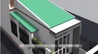 Những mẫu nhà ống mái tôn đơn giản, tiện ích