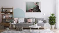 Cách phối gam màu pastel cho phòng khách theo phong cách Scandinavia