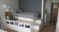 Những món đồ nội thất dành cho phòng ngủ chật