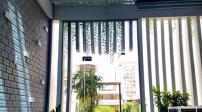 Ngắm ngôi nhà Sài Gòn có mặt tiền như dải lụa