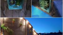 Thiết kế không gian nghỉ ngơi tuyệt vời ở ban công
