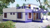 Những mẫu thiết kế nhà mái bằng 1 tầng chi phí thấp
