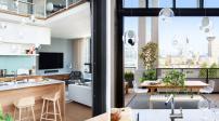 Sử dụng nội thất đương đại cho ngôi nhà tiện ích