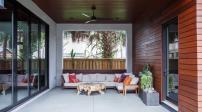 Ngôi nhà hiện đại với nội thất mang phong cách công nghiệp