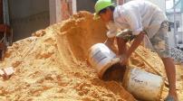 Tp.HCM: Giá cát tăng khiến một loạt dự án xây dựng điêu đứng