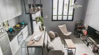 Thiết kế nội thất tuyệt đẹp cho căn hộ 30m2