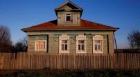 Kiến trúc nhà ở gỗ mộc mạc ở vùng thôn quê nước Nga
