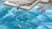 Các mẫu thiết kế sàn nhà 3D độc đáo