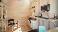 Thiết kế khoảng không gian tiện tích như studio