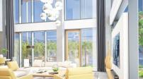 Gợi ý thiết kế phòng khách căn penthouse