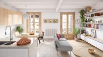 Ngắm căn hộ thiết kế theo phong cách Scandinavia