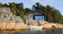 Ngôi nhà cạnh biển có tầm nhìn tuyệt đẹp ở Na Uy