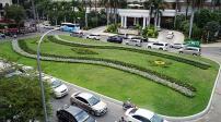 Tp.HCM: Bãi xe được cải tạo thành công viên hoa