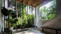 Ngôi nhà có thiết kế gần gũi với thiên nhiên