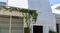 Ngôi nhà Nha Trang có kiến trúc giống tổ kén trắng