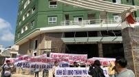 Khách hàng đòi nhà tại dự án chung cư Đại Thành