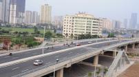 Xây dựng cầu nút giao Hoàng Quốc Việt - Nguyễn Văn Huyên