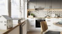 Thiết kế phá cách trong căn hộ phong cách Bắc Âu