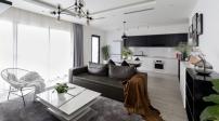 Thiết kế căn nhà có hai màu trắng đen ở Hà Nội