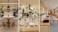 """""""Đi làm mà như ở nhà"""" với thiết kế văn phòng theo phong cách Scandinavia ấm cúng"""