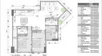 Bố trí nội thất cho căn hộ 121m2 3 phòng ngủ, chi phí dưới 200 triệu