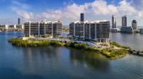 Kiến trúc tuyệt đẹp và cuộc sống xa xỉ trên hòn đảo nhân tạo ở Florida