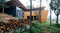 Biệt thự đẹp như tranh trong rừng thông xanh bạt ngàn ở Vĩnh Phúc