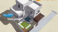 Tư vấn thiết kế biệt thự 2 tỷ đồng trên khu đất 220m2 ở Lạng Sơn