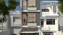 Tư vấn thiết kế xây nhà 4 tầng, tiết kiệm chi phí ở Tp.HCM