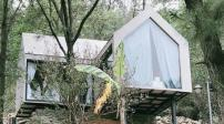 Ngôi nhà 36m2 nằm cheo leo bên đồi ở Sóc Sơn