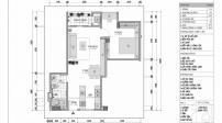 Tư vấn thiết kế nội thất căn hộ 55 m2 cho nam sinh viên chỉ hết gần 123 triệu