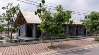 Ngôi nhà độc đáo xây từ đá vụn và giàn giáo ở Hà Nam