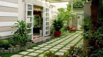 Gợi ý một số phương án thiết kế sân vườn cho nhà có diện tích nhỏ