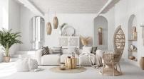Trang trí nhà màu trắng tạo vẻ đẹp thơ mộng và tinh khôi