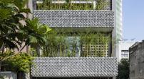Thiết kế độc lạ của ngôi nhà ống 3 tầng ở Sài Gòn