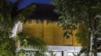 Ngôi nhà nghỉ dưỡng dùng các vật liệu địa phương để chống nóng
