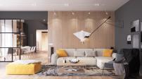 """Nội thất đẹp ngỡ ngàng trong căn hộ siêu """"khủng"""" - diện tích 292 m2"""