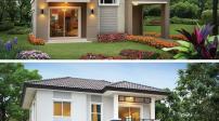Một số mẫu nhà 2 tầng mái thái kiểu mới đơn giản mà vẫn đẹp