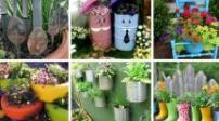 [Infographic] Tự tạo khu vườn nhỏ xinh từ đồ tái chế