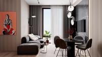 Căn hộ 2 phòng ngủ vẫn sang trọng nhờ khéo sử dụng nội thất