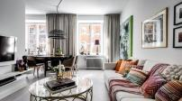 Kết hợp nội thất siêu tinh tế giúp căn hộ 55m2 đẹp từng centimet